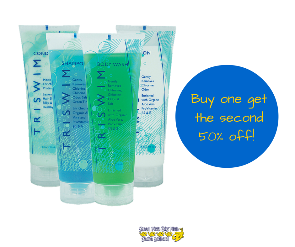 Buy One TRISWIM product get the 1/2 off