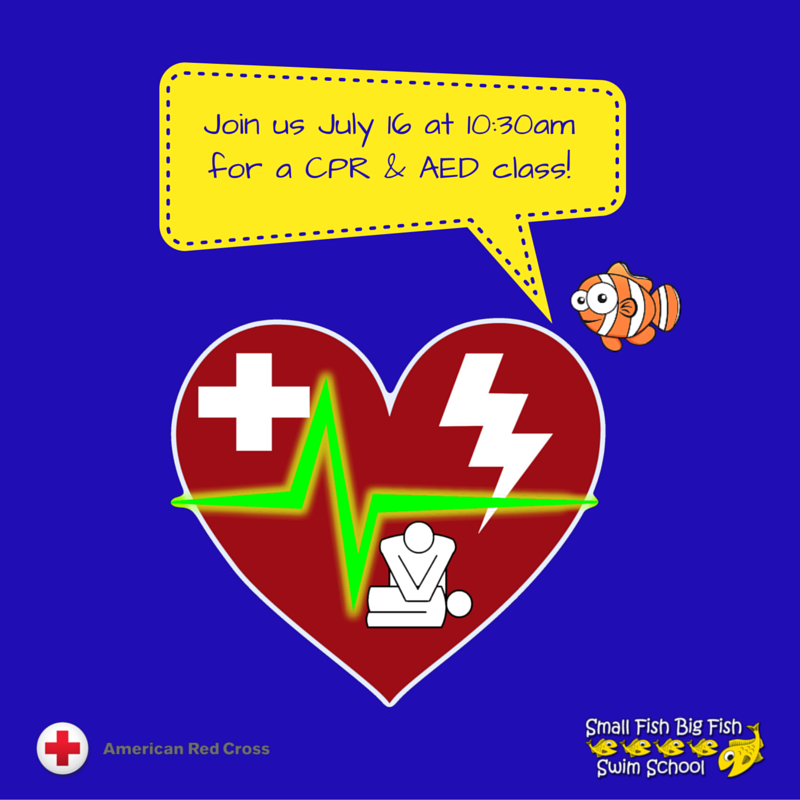 CPR & First Aid Sept. 10th 10:00 am