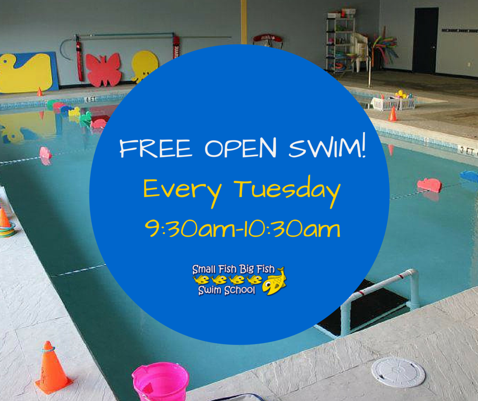 Free Open Swim Every Tuesday 9:30-10:30am