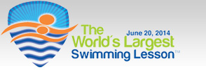 The World's Largest Swimming Lesson - June 20th , 2014