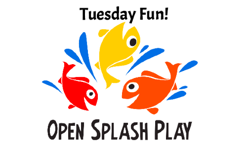 Open Splash Play  Every Tuesday! 9 - 10:30 AM