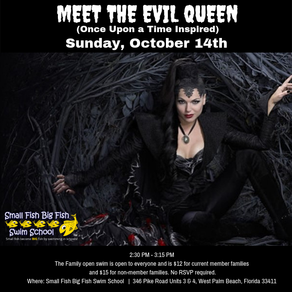 Come meet he Evil Queen Oct. 14th, 2018
