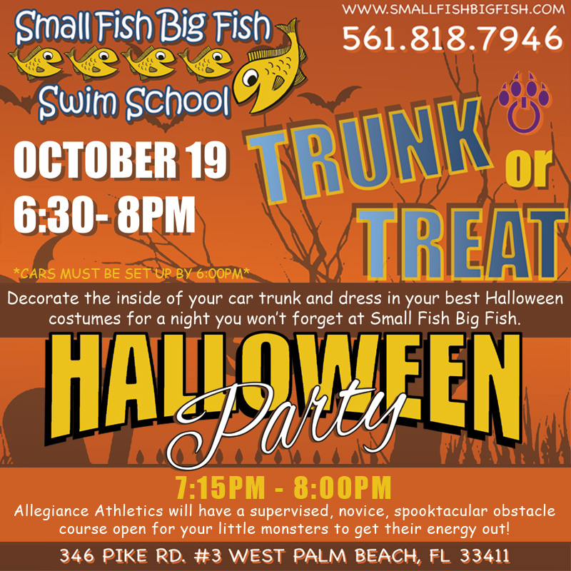 Trunk or Treat Oct. 19th